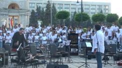 Concertul open air Voices Moldova