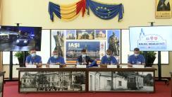 Conferință de presă susținută de Primarul Municipiului Iași