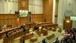 Ședința în plen a Camerei Deputaților României din 1 septembrie 2021