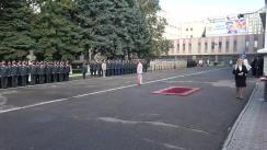 Ceremonie militar-protocolară cu prilejul aniversării a 30 de ani de la crearea Armatei Naționale