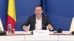 Participarea Prim-ministrului Florin Cîțu la videoconferința cu prefecții  și cu reprezentații Direcțiilor de Sănătate Publică