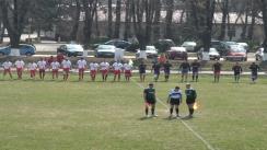 Meciul de Rugby amical între CSM - Dinamo