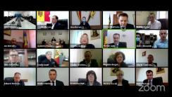 Ședința Curții de Conturi de examinare a raportului auditului conformității asupra achizițiilor publice în cadrul sistemului Ministerului Afacerilor Interne în anii 2019-2020