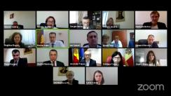 """Ședința Curții de Conturi de examinare a raportului auditului rapoartelor financiare ale Proiectului """"Reforma învățământului în Moldova"""" încheiate la 31 decembrie 2020"""