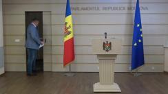 Briefing de presă susținut de către deputații din Fracțiunea Blocului Comuniștilor și Socialiștilor