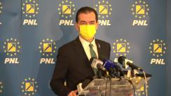 Declarații de presă susținute de Președintele Partidului Național Liberal, Ludovic Orban