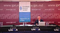 """Dezbaterea publică organizată de Agenția de presă IPN la tema """"Alegeri federale parlamentare în Germania: posibile efecte pentru nemți, europeni și moldoveni"""""""