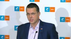 Declarație de presă susținută de liderul grupului USR PLUS, Ionuț Moșteanu