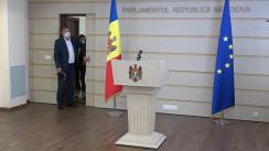 Briefing de presă susținut de deputații din Fracțiunea parlamentară a Blocului Comuniștilor și Socialiștilor