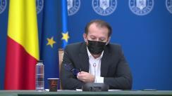 Participarea Prim-ministrului României, Florin Cîțu la reuniunea Comitetului Interministerial pentru implementarea proiectului E-facturare