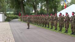 Ceremonia primirii oficiale a Președintelui României, Klaus Iohannis la Președinția Confederației Elvețiene