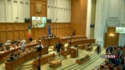 Ședința comună a Camerei Deputaților și Senatului României din 9 septembrie 2021