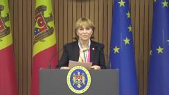 Conferință de presă susținută de Ministrul Sănătății, Ala Nemerenco, după ședința Comisiei Naționale Extraordinară pentru Sănătate Publică din 9 septembrie 2021