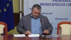 Conferință de presă organizată de consilierii municipali PSRM privind situația legată de banda unică destinată transportului public, ambuteiajele din Chișinău și despre parcări