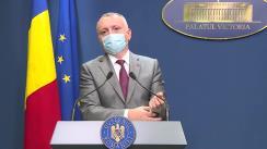 Conferință de presă după ședința Guvernului României din 10 septembrie 2021