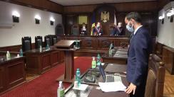 Ședința Curții Constituționale de examinare a sesizării nr. 220a/2020 privind controlul constituționalității unor prevederi din Legea nr. 257 din 16 decembrie 2020 cu privire la modificarea unor acte normative