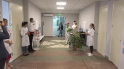 Inaugurarea, după reparația capitală, a două secții a medicilor de familie din cadrul Asociației Medicale Teritoriale Centru