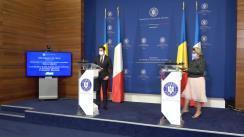 Declarații de presă ale secretarului de stat pentru afaceri europene, Iulia Matei, și ale secretarului de stat pentru afaceri europene al Republicii Franceze, Clément Beaune