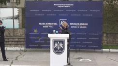 Conferința de presă organizată de Poliția de Frontieră privind investigarea cazului de capturare a unui avion, ca rezultat al operațiunii lansate la sfârșitul săptămânii trecute