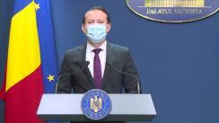 Conferință de presă după ședința Guvernului României din 15 septembrie 2021