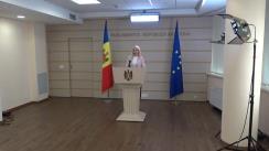 """Briefing de presă susținut de deputatul fracțiunii parlamentare a Partidului """"ȘOR"""", Marina Tauber, cu privire la un subiect de actualitate"""