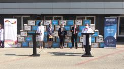 Evenimentul de recepționare a unui lot de 1 milion de măști de protecție, destinate sistemului medical, donate de Guvernul Germaniei și OMS