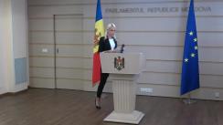 Declarațiile Marinei Tauber în timpul ședinței Parlamentului Republicii Moldova din 16 septembrie 2021
