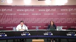 """Conferință de presă susținută de Organizația INVENTO cu tema """"Policy brief: Rolul societății civile în avansarea statului de drept și a reformei justiției"""""""