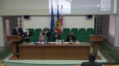 """Conferința științifică """"Managementul sănătății publice: realizări, provocări și perspective. In Memoriam prof. Eugen Popușoi"""", ziua I-a"""