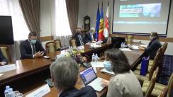 """Workshop internațional cu genericul """"Consolidarea capacităților de supraveghere epidemiologică în abordarea COVID-19 și a altor epidemii"""": cooperare între Italia și Republica Moldova. Sesiunea: Gestionarea virusurilor în sănătatea publică"""