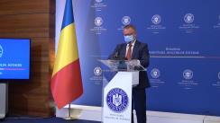 Conferință de presă susținută de Comisarul General al Secțiunii Române la Expo 2020 Dubai, Ferdinand Nagy, privind participarea României la Expo 2020 Dubai