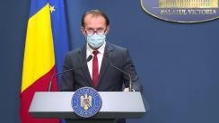 Conferință de presă după ședința Guvernului României din 22 septembrie 2021
