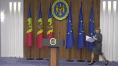 Briefing de presă susținut de ministrul Sănătății, Ala Nemerenco, în legătură cu noile măsuri aprobate în cadrul ședinței Comisiei Naționale Extraordinare de Sănătate Publică