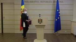 Briefing de presă susținut de către deputații Fracțiunii parlamentare a Partidului ȘOR privind lansarea unei inițiative legislative