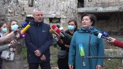 Conferință de presă organizată de Ministerul Culturii dedicată elucidării situației în care se află Filarmonica Națională la 1 an de la incendiul devastator și pașii care urmează a fi întreprinși