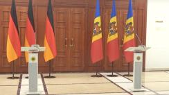 Declarații de presă ale Președintelui Republicii Moldova, Maia Sandu, și Președintelui Republicii Federale Germania, Frank-Walter Steinmeier
