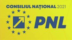Ședința Consiliului Național al PNL din 26 septembrie 2021