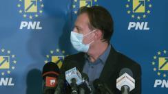 Declarație de presă susținută de Președintele PNL, Florin Cîțu