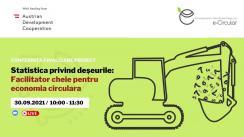 """Evenimentul de totalizare a rezultatelor proiectului """"Statistica privind deșeurile"""""""