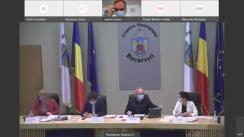 Ședința Consiliului General al Muncipiului București din 30 septembrie 2021