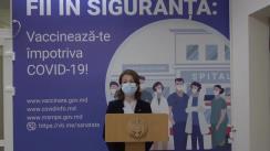 Briefing de presă organizat de Ministerul Sănătății pentru informarea populației cu privire la completarea Fișei epidemiologice în format electronic