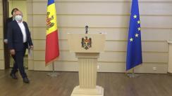 Briefing de presă susținut de către deputatul Fracțiunii PAS, Boris Marcoci