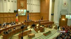 Ședința comună a Camerei Deputaților și Senatului României din 30 septembrie 2021