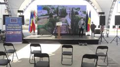 """Inaugurarea Stației de Epurare a apelor uzate din Cantemir și ceremonia de încheiere a proiectului """"Dezvoltarea Zonelor Rurale în Republica Moldova"""" (DevRAM)"""