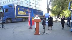 Evenimentul de recepționare a unui lot de ajutor umanitar din partea Austriei