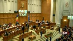 Ședința comună a Camerei Deputaților și Senatului României din 5 octombrie 2021