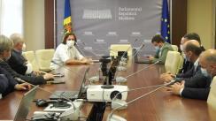 Ședință de lucru a Comisiei economie, buget și finanțe, cu participarea conducerii Agenției Naționale pentru Reglementare în Energetică și a Consiliului Concurenței, în problema comasării celor două instituții