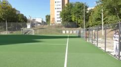 """Inaugurarea stadionului de fotbal de la Liceul Teoretic """"Gaudeamus"""""""