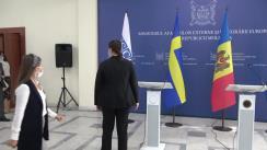 Declarații de presă susținute de viceprim-ministrul, ministrul afacerilor externe și integrării europene al Republicii Moldova, Nicu Popescu, și președinta în exercițiu a OSCE, ministra afacerilor externe a Suediei, Ann Linde
