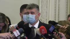 Declaratie de presă susținută de președintele PSD, Marcel Ciolacu